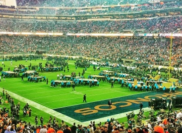 El Super Bowl 50 se iluminó con Elation