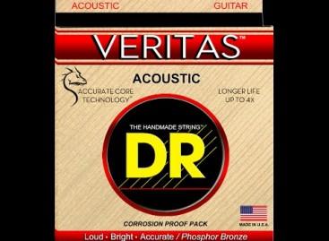 Nuevas cuerdas Veritas de DR Strings