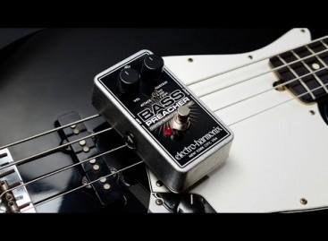 Electro-Harmonix predica con su nuevo compresor Bass Preacher
