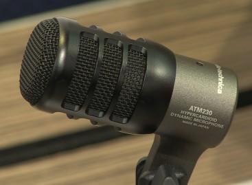 Disponible el micrófono ATM230 para instrumentos de Audio-Technica