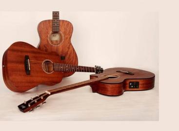 Cort anuncia nuevas guitarras acústicas de caoba