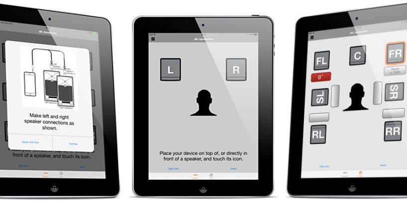 SpeakerAngle y SpeakerPro: Dos nuevas aplicaciones para iOS de JBL Professional