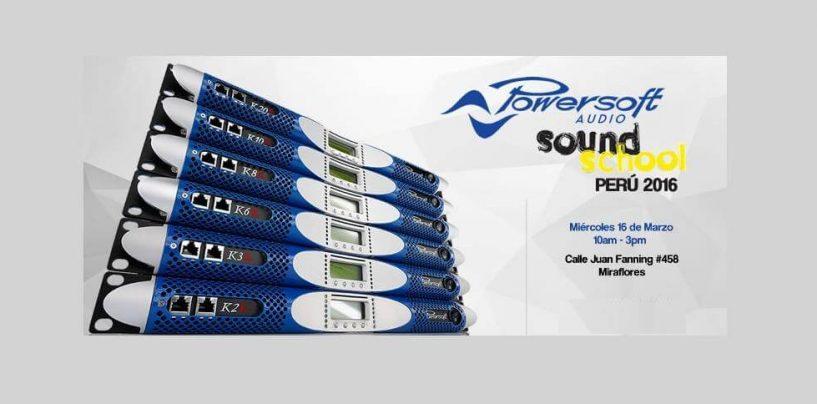 Sonotec lleva a Powersoft a Perú