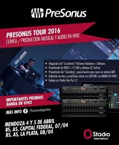PreSonus 2016 Argentina
