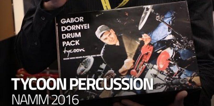 Tycoon y Gabor Dornyei crean el Gabor Dornyei Drum Pack