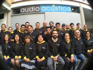 Equipo de Audio Acustica