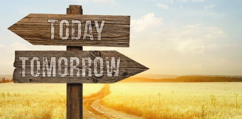 El futuro no es una recta, pero siempre está el mañana