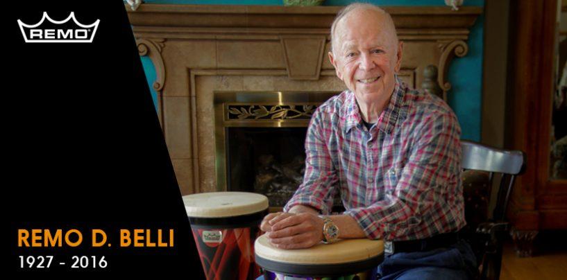 Fallecimiento de Remo Belli