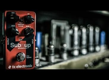 TC Electronic suma al Sub 'N' Up Octaver, a su línea de pedales TonePrint