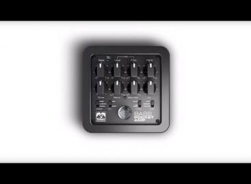 Palmer presenta nuevo BASS POCKET AMP
