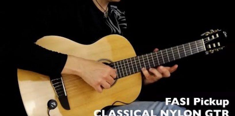 EKO FASI es la nueva pastilla para instrumentos de cuerda acústicos