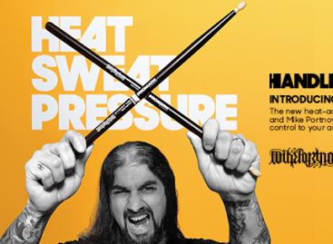 Mike Portnoy ActiveGrip 420X la nueva baqueta para bateristas de Promark