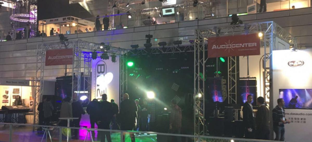 AUDIOCENTER estuvo presente por primera vez en Afial Show 2016