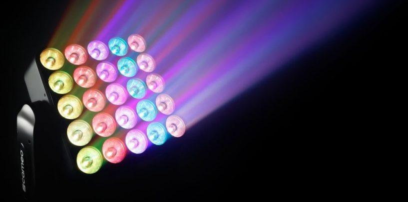 Nuevo LED móvil Auro Matrix 500 de Cameo