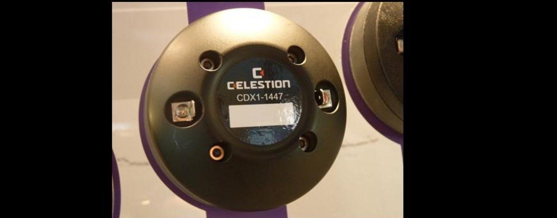 Nuevo driver de compresión de ferrita CDX1-1447 de Celestion