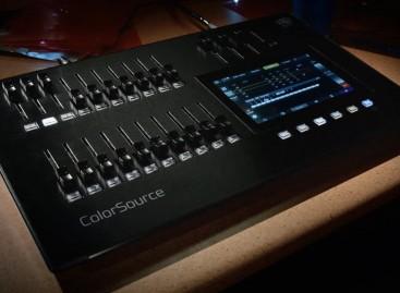 Control en los escenarios con las consolas ColorSource de ETC