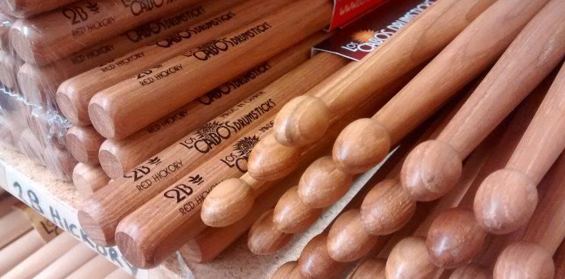 Los Cabos Drumsticks presenta sus baquetas