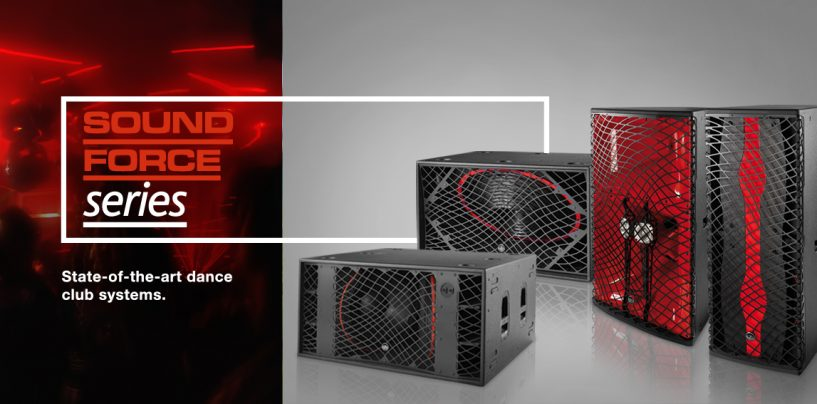 Nuevo sistema SF-158 de la serie Sound Force de D.A.S. Audio