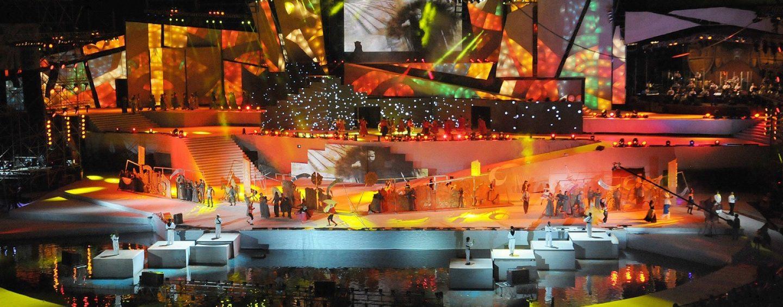 PR Lighting iluminó la Fiesta de la Vendimia en Argentina