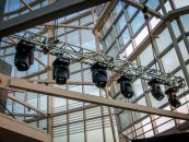 La Torre Costanera Center fue el punto de exhibición de Clay Paky en Chile