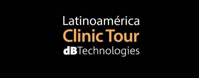dBTechnologies lleva su Latinoamérica Clinic Tour a México y Colombia