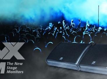 Los monitores de escenario de la serie LVX XM son lo nuevo de dBTechnologies
