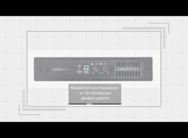 Los amplificadores LUCIA de LAB GRUPPEN se hacen más pequeños