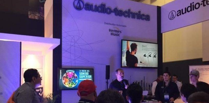 Nuevo micrófono de condensador tipo flexo ES931 de Audio-Technica