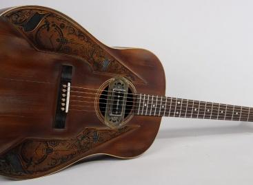 Wild Custom presenta su nueva guitarra acústica Harvest J-45