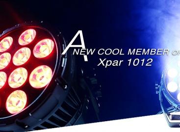 Xpar 1012 es el nuevo integrante de la familia de PR Lighting