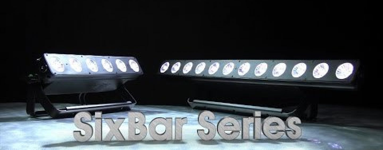 SixBar 1000 LED Batten de Elation ya está disponible en versión IP65
