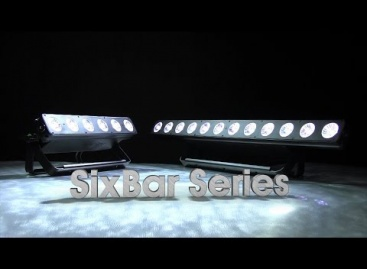 SixBar 1000 LED Batten de Elation ya está disponible en versión IP65