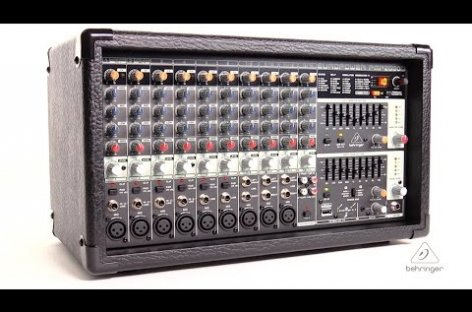 El mezclador amplificado PMP2000D de Behringer ya está disponible