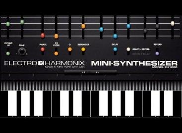 Electro-Harmonix crea la aplicación Mini-Synthesizer