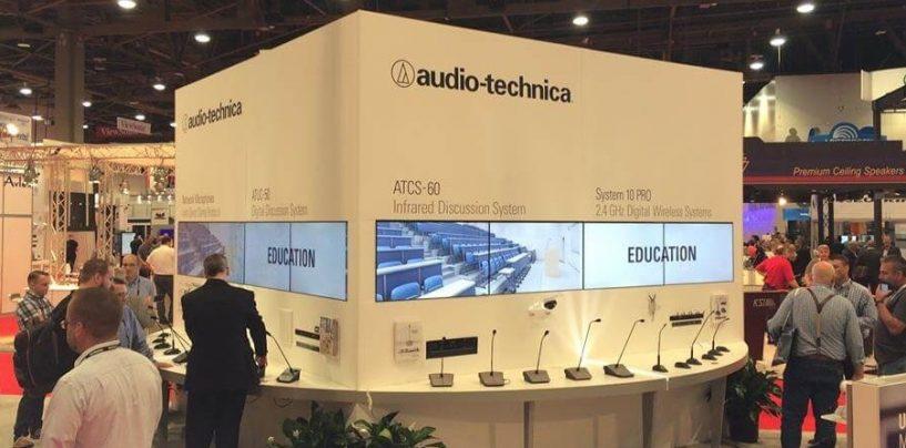 Los micrófonos ATND931 y ATND933 de Audio-Technica ahora cuentan con Dante