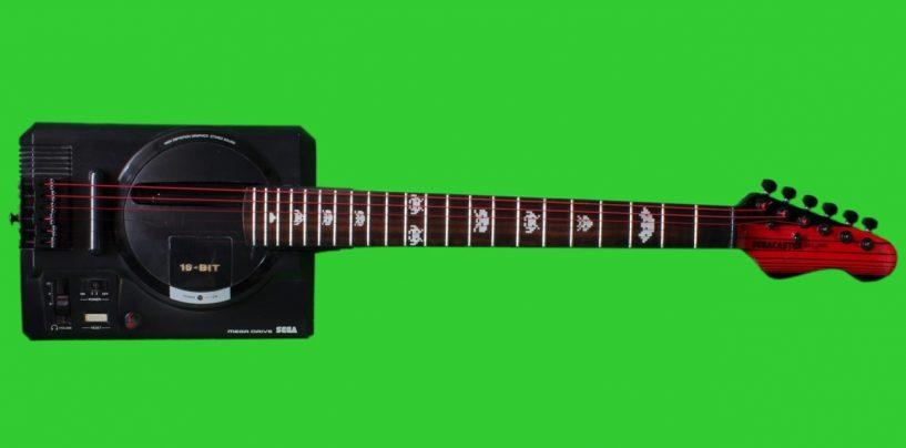 ¿Fanático de las guitarras y juegos de video? Devil & Sons trae la Segacaster