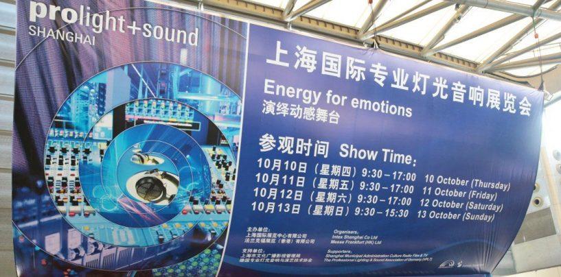 Prolight+Sound Shanghai ofrece ayuda de costos para visitantes latinoamericanos