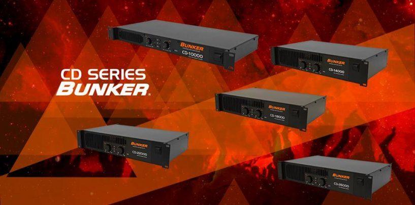 Cinco amplificadores diferentes componen la Serie CD de Bunker