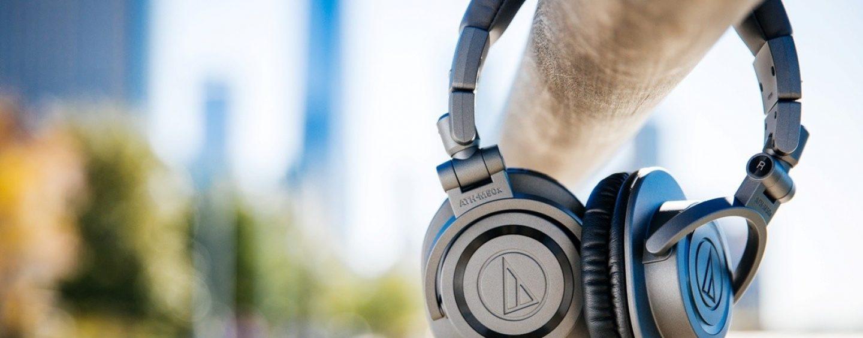 Nuevos audífonos ATH-50xMG en gris mate de Audio-Technica