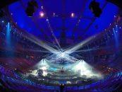 SGM ilumina el Ericsson Globe Arena