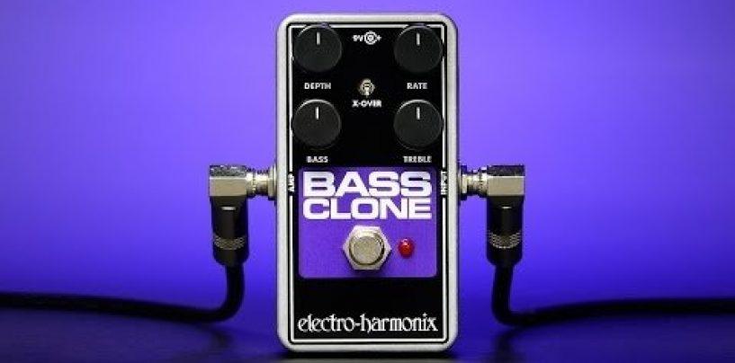 Electro-Harmonix presenta el pedal Bass Clone Chorus
