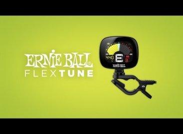 Ernie Ball presenta el afinador de clip FlexTune