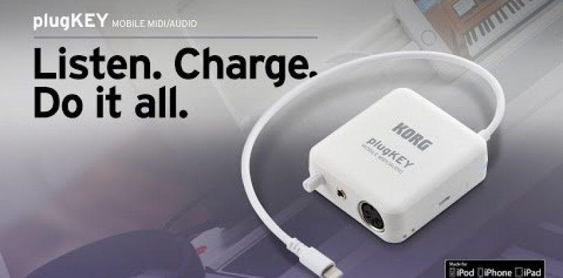 Con plugKey de Korg, conecte diversos aparatos
