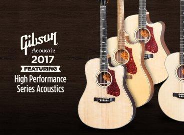 Gibson Acoustic lanza 24 modelos nuevos para el 2017
