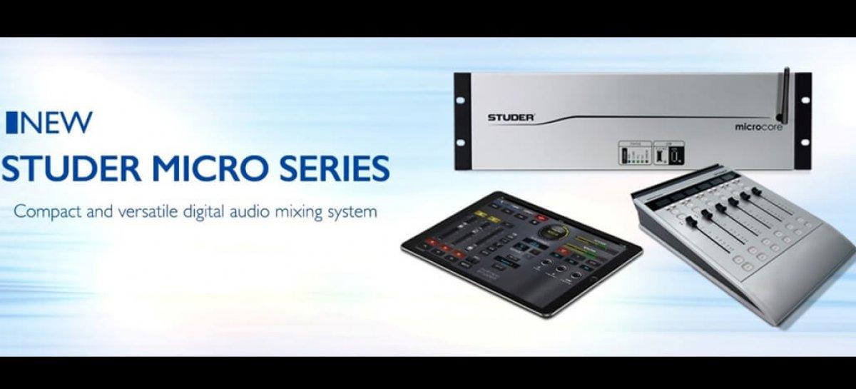 Studer presenta la Studer Micro Series