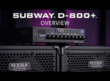Descubriendo los nuevos equipos para bajos de la serie Subway de Mesa/Boogie