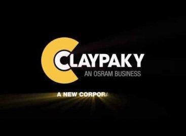 Clay Paky cumple 40 años y estrena logo