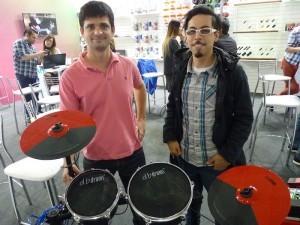 Julián Berenstecher y Nicanor Aybar (db Drums)