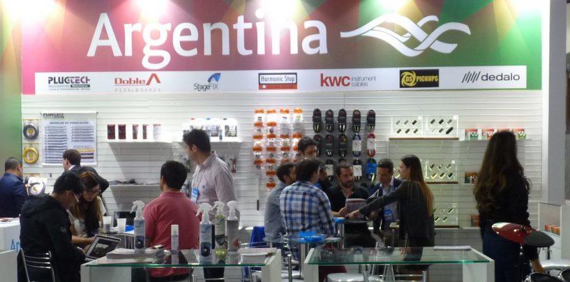 Fabricantes argentinos presentaron sus novedades en Expomusic