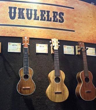 Serie de Ukuleles también disponible